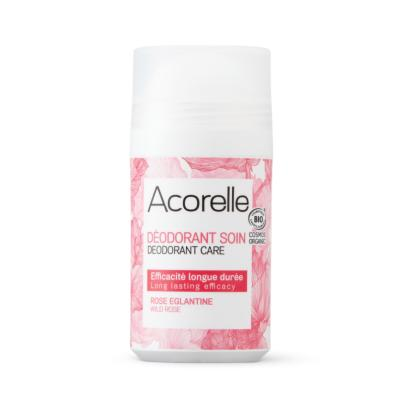Déodorant roll on bio Rose Eglantine - 50 ml - ACORELLE
